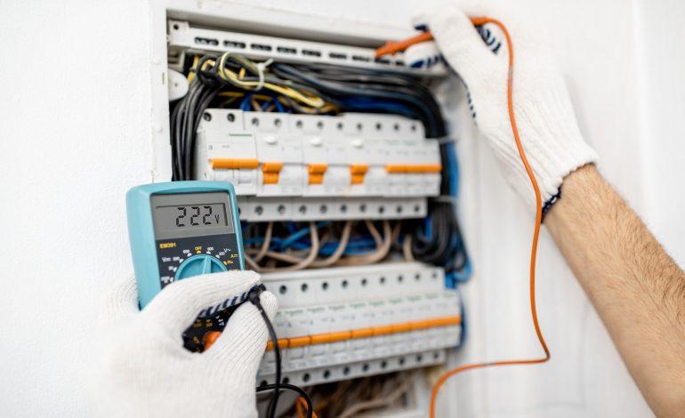Installing or repairing electrical panel